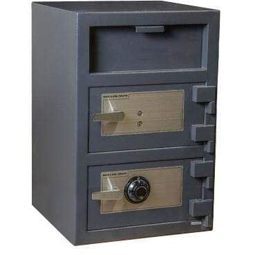 Hollon B-Rated Double Door Depository Business Safe FDD-3020CK