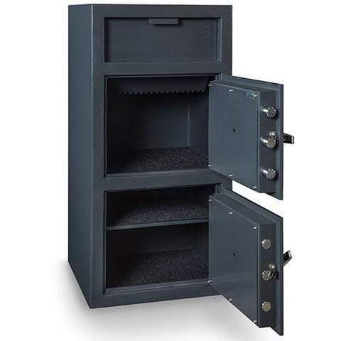 Hollon B-Rated Double Door Depository Business Safe FDD-4020EE