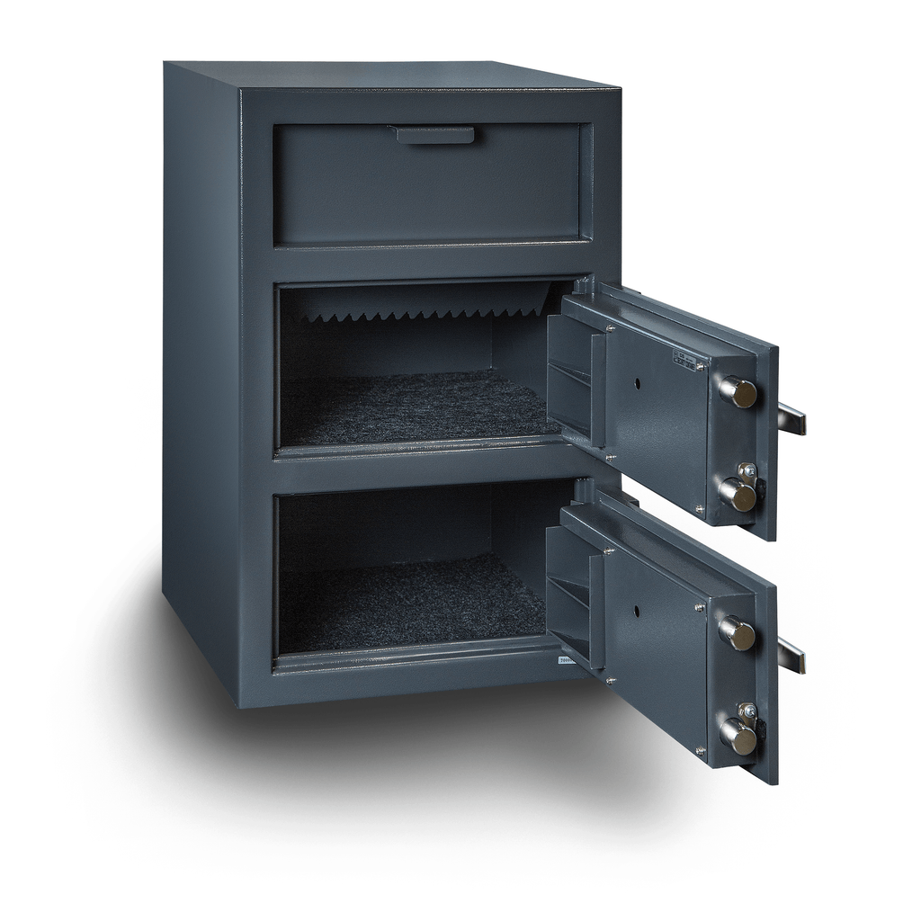 Hollon B-Rated with Inner Locking Compartment Drawer Depository Business Safe FD-3020CILK