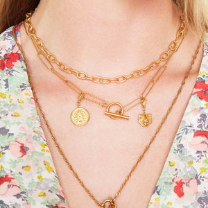 Kette SELFLOVE in Gold
