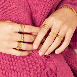 Ring LAYERS in Gold