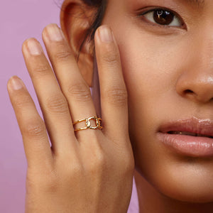 Ring MOOD in Gold