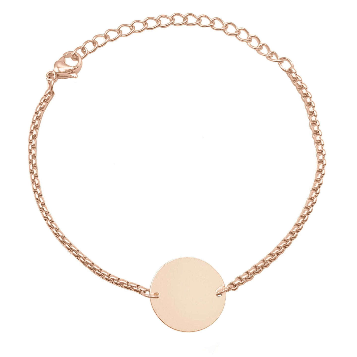 Armband PURE in Rosé Gold (inkl. Gravur)