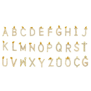Kette LETTERs in Gold