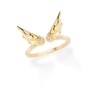 Ring ENGEL in Gold