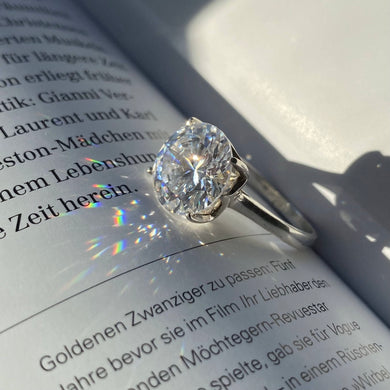 Ring CRYSTAL Zirkonia queen