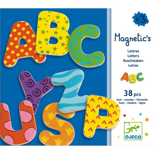 Magnetic's 38 lettres