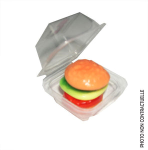 Mini burger en bonbon