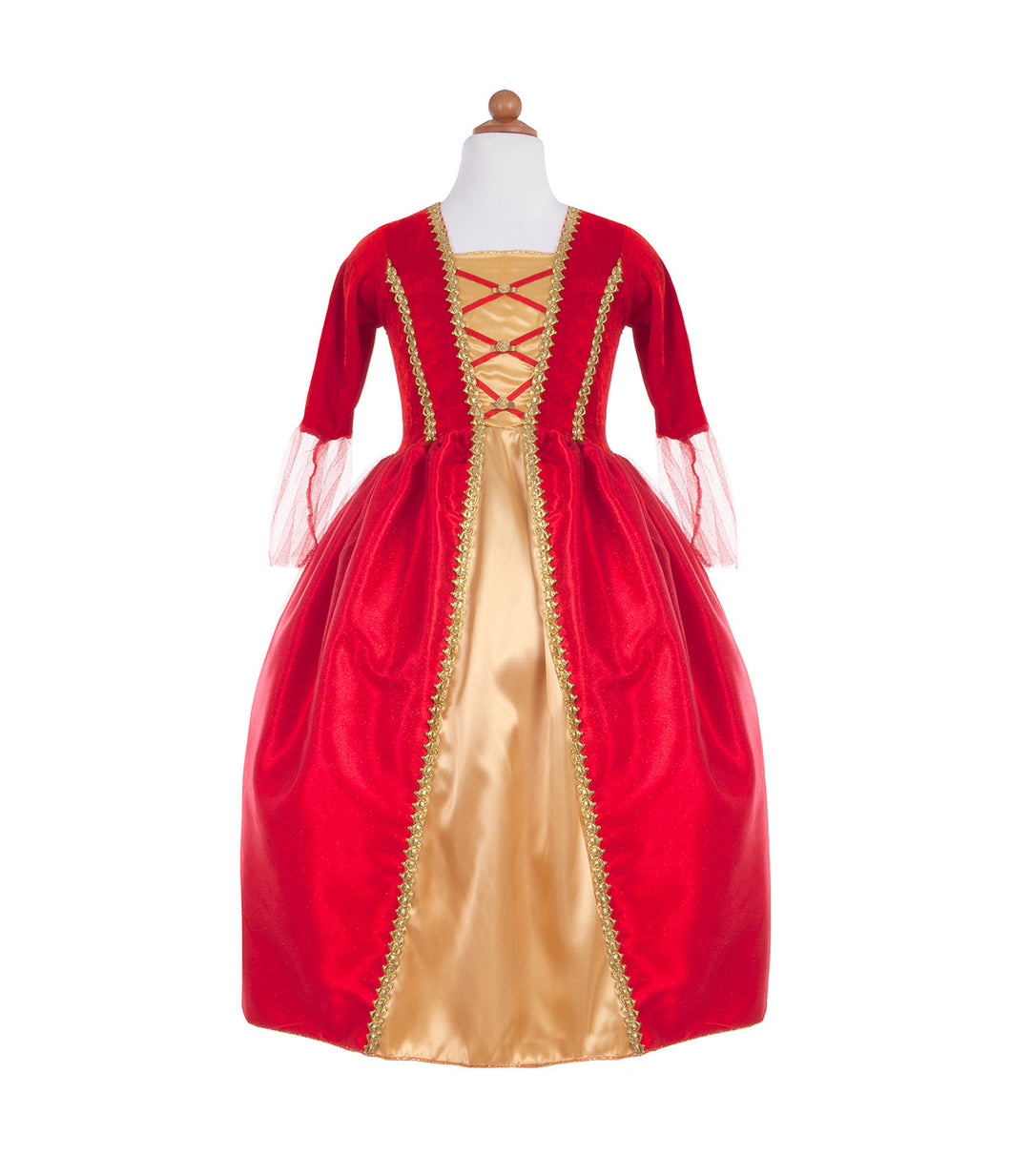 Robe Royale Rouge Or
