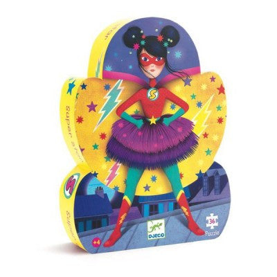 Puzzle 36 pc Super Star Djeco