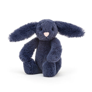 Lapin Bashful Navy Medium Jellycat
