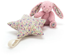Charger l'image dans la galerie, Etoile musicale Lapin Liberty Rose Jellycat