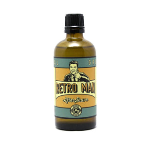 Retro Man - Traditional Luxury Aftershave - 100ml