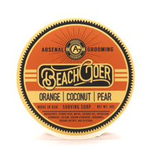 Load image into Gallery viewer, Beach Goer - Traditional Luxury Shaving Soap - 4oz