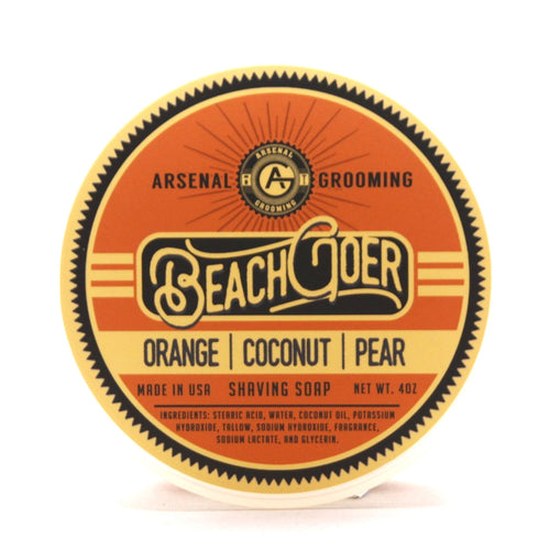 Beach Goer - Traditional Luxury Shaving Soap - 4oz