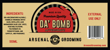 Load image into Gallery viewer, Da Bomb - Traditional Luxury Aftershave - 100ml