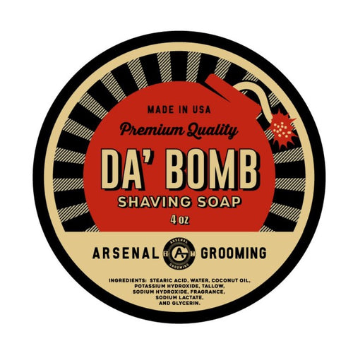 Da Bomb - Traditional Luxury Shaving Soap - 4oz