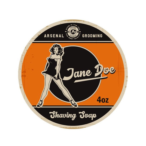 Jane Doe - Traditional Luxury Shaving Soap - 4oz