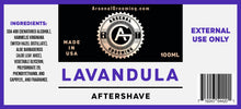 Load image into Gallery viewer, Arsenal Grooming - Lavandula - Traditional Luxury Aftershave - 100ml