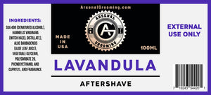 Arsenal Grooming - Lavandula - Traditional Luxury Aftershave - 100ml