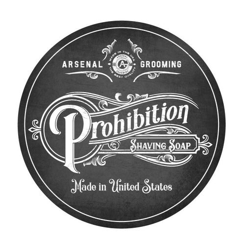 Prohibition - Traditional Luxury Shaving Soap - 4oz
