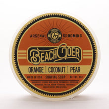 Load image into Gallery viewer, Arsenal Grooming wet shaving shave soap barbershop luxury shave double edge razor barber brooklyn barbershop tallow based shaving soap