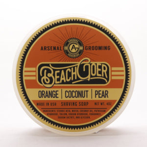 Arsenal Grooming wet shaving shave soap barbershop luxury shave double edge razor barber brooklyn barbershop tallow based shaving soap