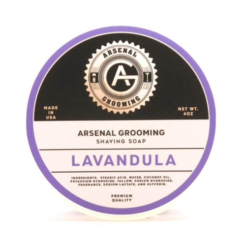 Lavandula- Traditional Luxury Shaving Soap - 4oz