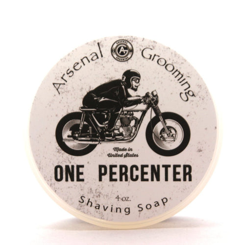Arsenal Grooming wet shaving shave soap barbershop luxury shave double edge razor barber one percenter tallow based shaving soap