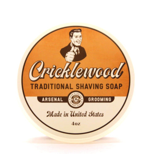 Cricklewood- Traditional Luxury Shaving Soap - 4oz