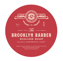 Load image into Gallery viewer, Brooklyn Barber - Traditional Luxury Shaving Soap - 4oz