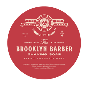 Brooklyn Barber - Traditional Luxury Shaving Soap - 4oz