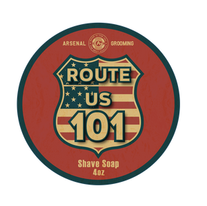 Route 101- Traditional Luxury Shaving Soap - 4oz