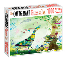 Watercolor Dream Artist Wooden 1000 Piece Jigsaw Puzzle Toy For Adults and Kids