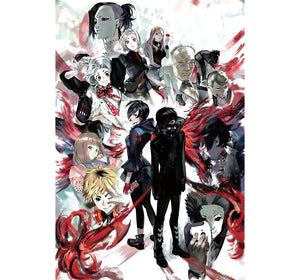 Tokyo Ghoul is Wooden 1000 Piece Jigsaw Puzzle Toy For Adults and Kids