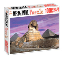 Statue of Sphinx is Wooden 1000 Piece Jigsaw Puzzle Toy For Adults and Kids