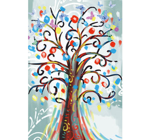 Abstract Tree Art Wooden 1000 Piece Jigsaw Puzzle Toy For Adults and Kids