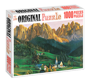 Morning First Rays is Wooden 1000 Piece Jigsaw Puzzle Toy For Adults and Kids