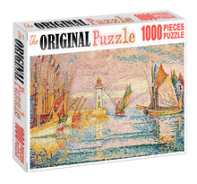 River Dock Wooden 1000 Piece Jigsaw Puzzle Toy For Adults and Kids