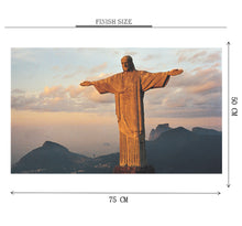 Christ the Redeemer is Wooden 1000 Piece Jigsaw Puzzle Toy For Adults and Kids