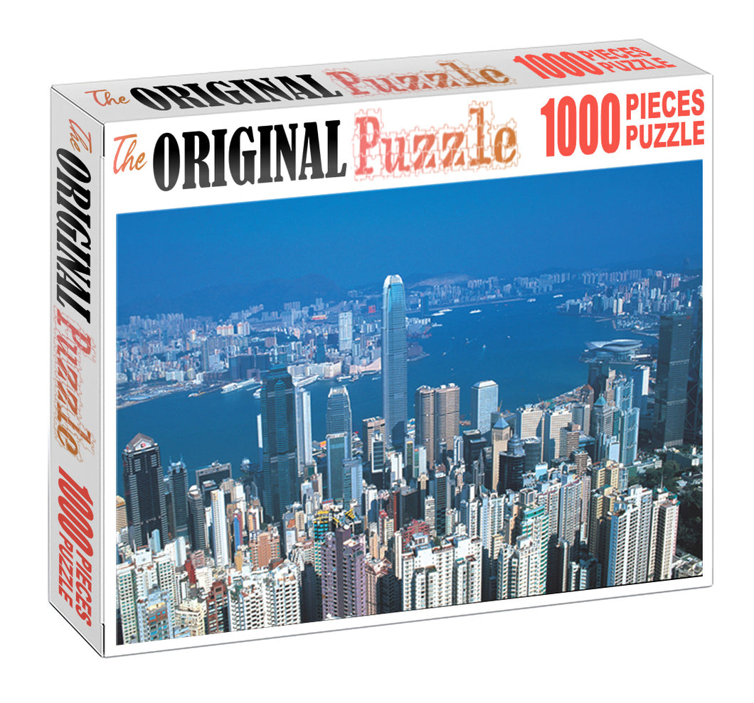 Tallest Building of Dubai is Wooden 1000 Piece Jigsaw Puzzle Toy For Adults and Kids