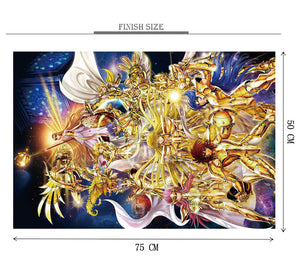 Saint Saiyan Origin is Wooden 1000 Piece Jigsaw Puzzle Toy For Adults and Kids