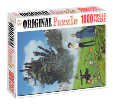 Flying to the sky is Wooden 1000 Piece Jigsaw Puzzle Toy For Adults and Kids