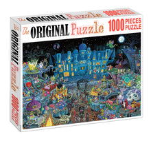 Monster City is Wooden 1000 Piece Jigsaw Puzzle Toy For Adults and Kids