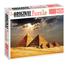 Pyramids Wooden 1000 Piece Jigsaw Puzzle Toy For Adults and Kids