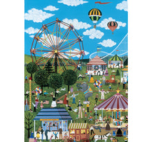 Fair Scene illustrations is Wooden 1000 Piece Jigsaw Puzzle Toy For Adults and Kids