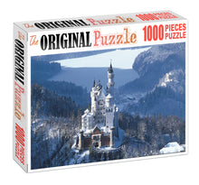 White Castle is Wooden 1000 Piece Jigsaw Puzzle Toy For Adults and Kids