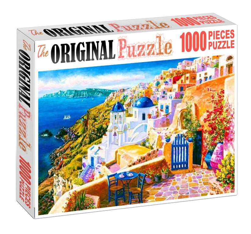 City of Venese Wooden 1000 Piece Jigsaw Puzzle Toy For Adults and Kids