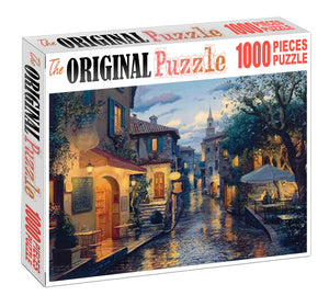 Rainy Day is Wooden 1000 Piece Jigsaw Puzzle Toy For Adults and Kids
