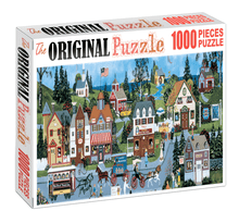 Vector city of England is Wooden 1000 Piece Jigsaw Puzzle Toy For Adults and Kids